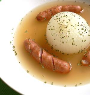 レンジでチン☆新たまねぎの丸ごとスープ