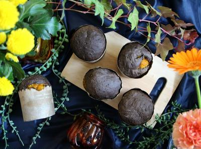 〈簡単!〉ハロウィンにオススメ♪カボチャ餡入りココアパン