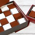 簡単♪バレンタイン生チョコレートblack and white