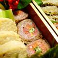 牛肉のいんげんと人参の華巻き 2012年度のおせち料理 -Recipe No.1426-