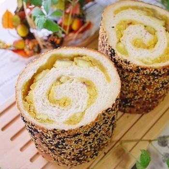 【cottaレシピ】ごまごまおさつロール