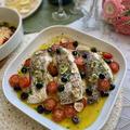 素敵アイディアです!オーブンで作るごちそう〜鯛の切り身でアクアパッツァ】
