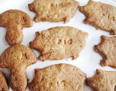ジンジャーの可愛いクッキー