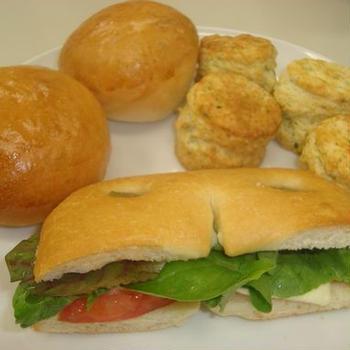 フォカッチャ&スコーン&バンズパン