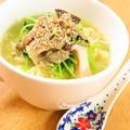 5種キノコと豆苗の生姜ほっこりとろみ麺 by kaana57さん