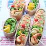 ちらし寿司と天ぷらのお弁当♪
