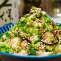 【レシピ】たたき長芋とオクラの塩こんぶ和え