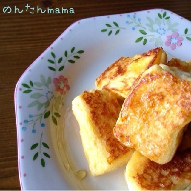 うちのミックスジュース&フレンチトースト☆家プール