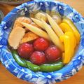 夏野菜の冷やしおでん by こよさん