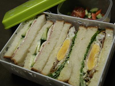 >サンドイッチ弁 by かずさん