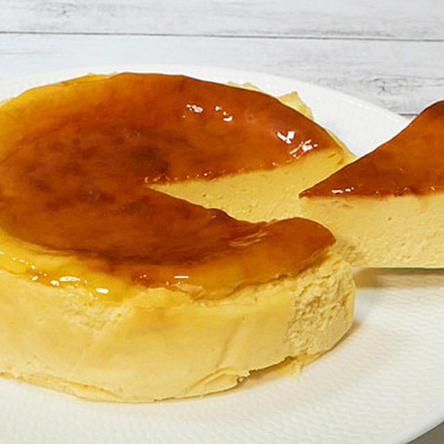 世界で一番簡単なボトム無しニューヨークチーズケーキ