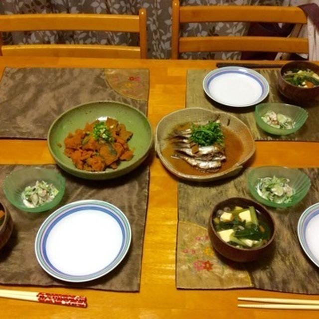 レンジで簡単♬鰯の生姜煮。