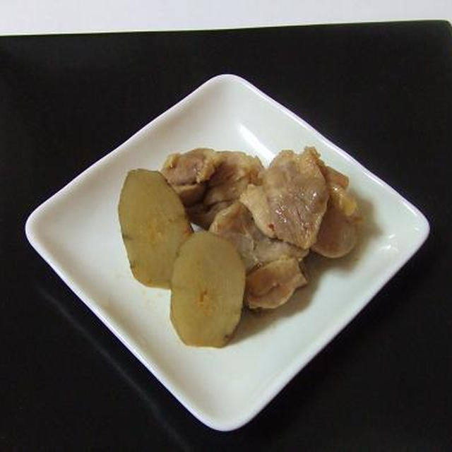 ノンオイル簡単中華◇新ゴボウと鶏肉のオイスター煮