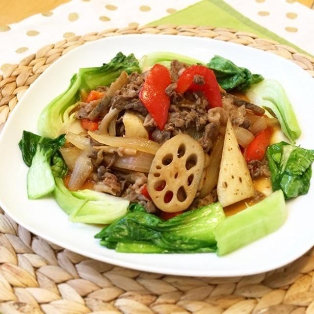 根菜のプルコギ