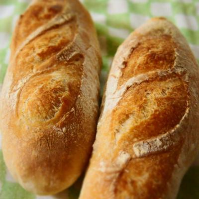 フランスパンあんこ風w