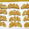 シナモンとビーナッツクリームのハロウィンコウモリクッキー