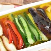 【作り置き連載Vol.3】彩り豊か♪冷やして食べたい夏野菜のひんやり作り置き