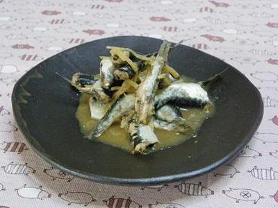 ☆平子鰯の生姜味噌煮☆