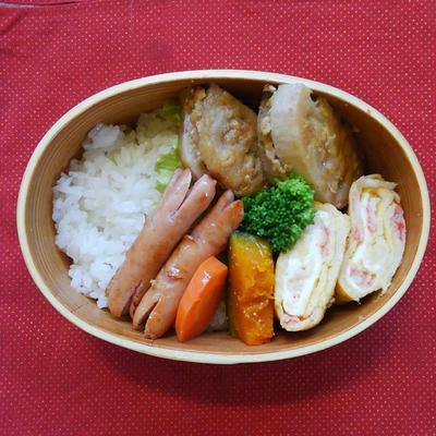 【蟹の形】カニさんウインナーのお弁当【蟹の名は】