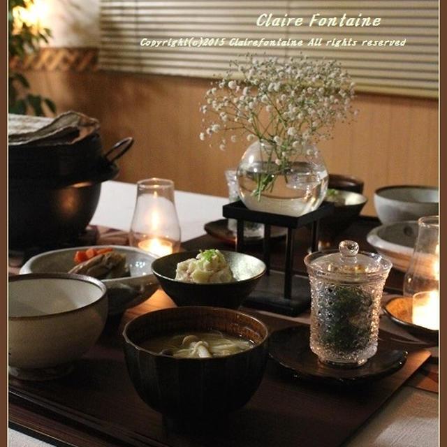 じんわり優しい~根菜中心の和食