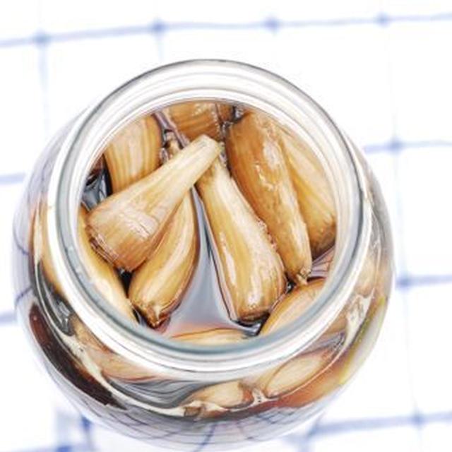 らきょの酢醤油漬け らっきょ味噌
