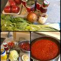 冷凍保存用のトマトソース作り