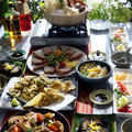 【お正月料理 3日の朝ご飯】/【お土産に持たせた菜園野菜】