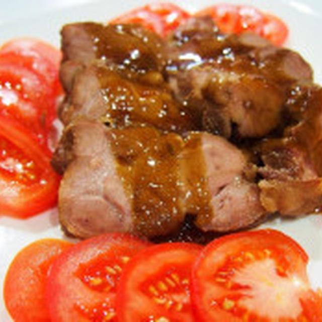 おでかけの日の定番「煮豚」と夏野菜