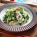 【簡単一品高タンパク】ささみと玉ねぎの梅マヨ和え レシピ・作り方