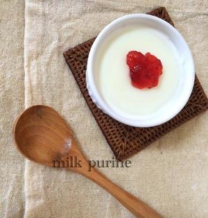 混ぜて冷やすだけ!片栗粉で簡単ミルクプリン