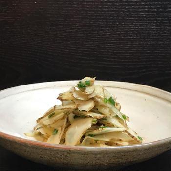 菊芋ナムル