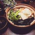 料理教室☆きまぐれランチ♪~春野菜の瓦そば(茶そば)~