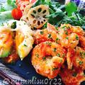 簡単ナンプラー風味のガーリック海老マヨ
