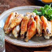 ♡グリルde簡単♡手羽中の塩ごま油焼き♡【#簡単レシピ#魚焼きグリル#時短#節約】