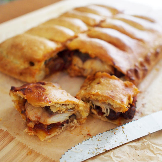 レーズンと鯖のエンパナーダ(パイ包み焼)