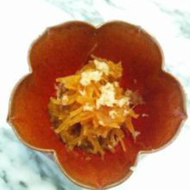 金糸瓜で、ベジタブル素麺