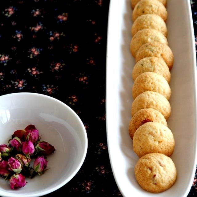 薔薇のクッキー* 紅茶のクッキー