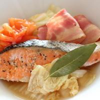 鮭と白菜のスープ煮
