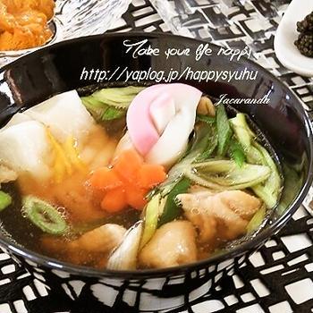クックパッドでトップ10入り「麺つゆde簡単☆お雑煮」