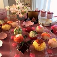 ひな祭りを彩るおもてなし料理~コロンとかわいい!華やかてまり寿司