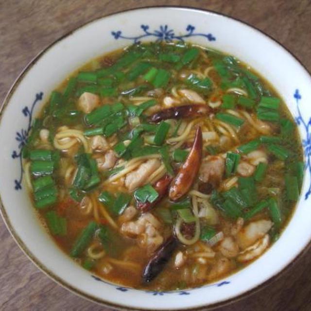 自作 台湾担仔麺(もどき)
