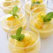 マンゴーとパイナップルのプリン by Mituru Kitaokaさん
