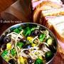 ◆菜花のアンチョビパスタとカンパサンドの弁当。