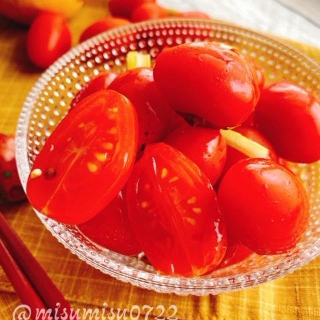 プチトマト【アンジェレ】のレモンピクルス(動画レシピ)