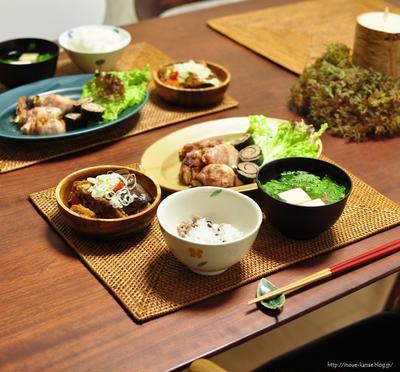 東京料理教室のお申込み本日正午スタート◎昨日の糖質オフ晩ごはん