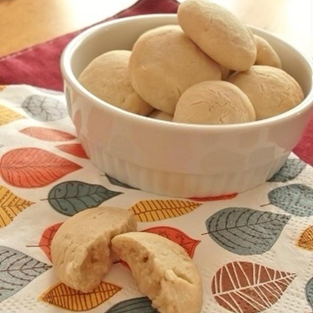 今度は『ほっとAPPLE TEA』を使ってクッキー作り♪