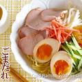 Goma Hiyashi Chuka (Koufuku Graffiti Inspired Cold Ramen with Sesame Dressing) - Video Recipe by ochikeronさん