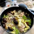 【だしいらず!白菜と春雨たっぷりピエンロー風鍋】がくらしのアンテナに掲載です!