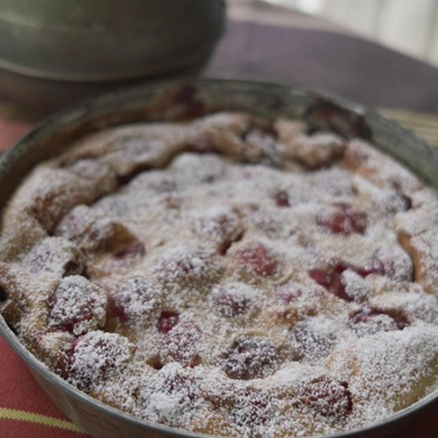 さくらんぼのクラフティ フランス地方菓子
