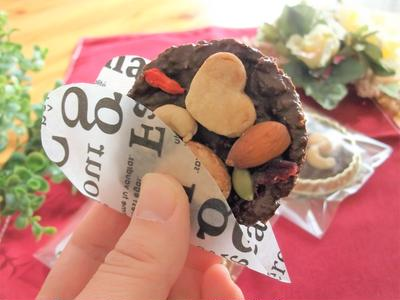 シナモンクッキー ディスクチョコ
